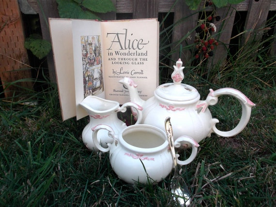 ... and Open Sugar Paired with 1946 'Alice in Wonderland' Book & ...