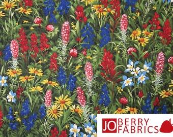 Wildflowers IV Fabric by Sentimental Studios for Moda.