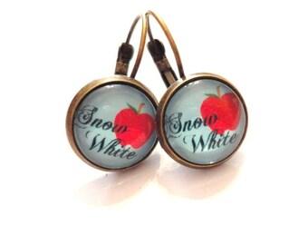 Earrings Snow White
