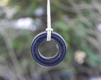 Fairy Garden Accessories miniature Tire Swing  for terrarium, miniature garden, or dollhouse playground