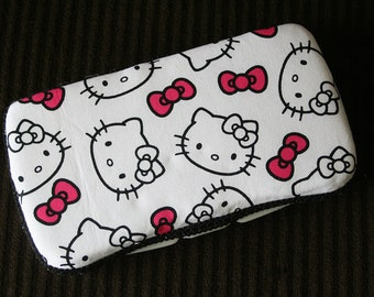 Custom Boutique Style Travel Wipe Case - Hello Kitty