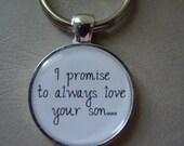 I PROMISE ALWAYS key chain