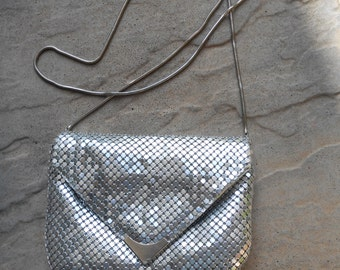 Whiting and Davis Style Evening Bag