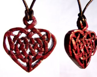 "Amaranth ""Heart"" pendant"