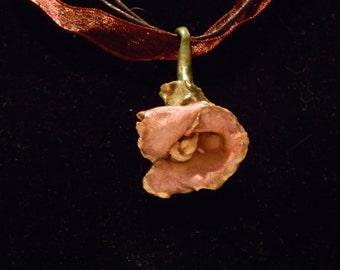 Porcelain Lily Necklace