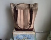 Brown and Tan Open Shopper