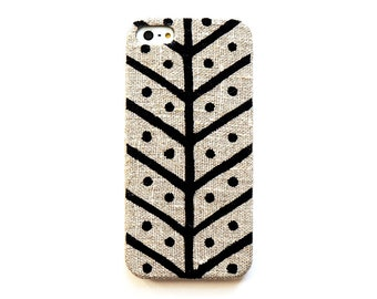 FABRIC - iPhone 6 case, iPhone 5 case, iPhone 4s case, Linen iphone case, Herringbone iPhone case