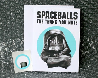 Spaceballs The Thank You Note - Thank You Card