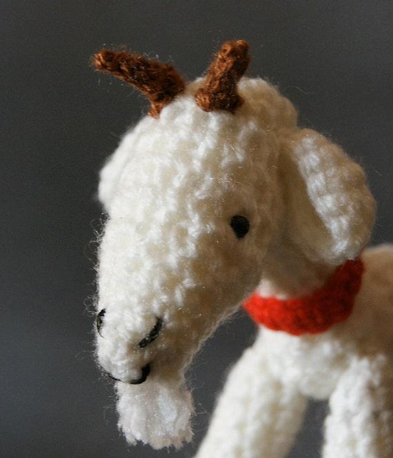 Amigurumi Doll Hands : Amigurumi Billy Goat Hand Crochet Amigurumi by ...