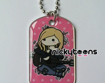 NickyToons Dog Tag Avril