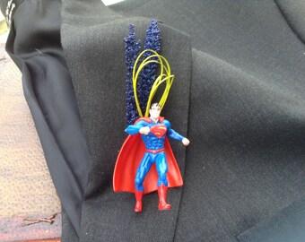 Superman boutonnière