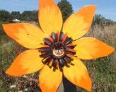 Rustic Barn Wood Sunflower Wreath - Autumn Door Wreath - Outdoor Fall Decoration, Primitive Autumn Decor, Rustic Fall Decor