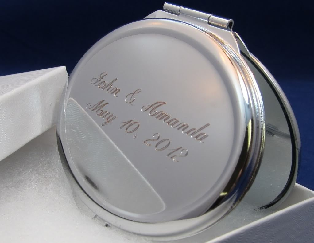 9 personalized compact mirror bridesmaid gift graduation gift. Black Bedroom Furniture Sets. Home Design Ideas