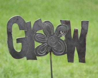 Grow - Garden Stake