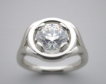 14K Ring Setting Made In The USA Exclusive Design