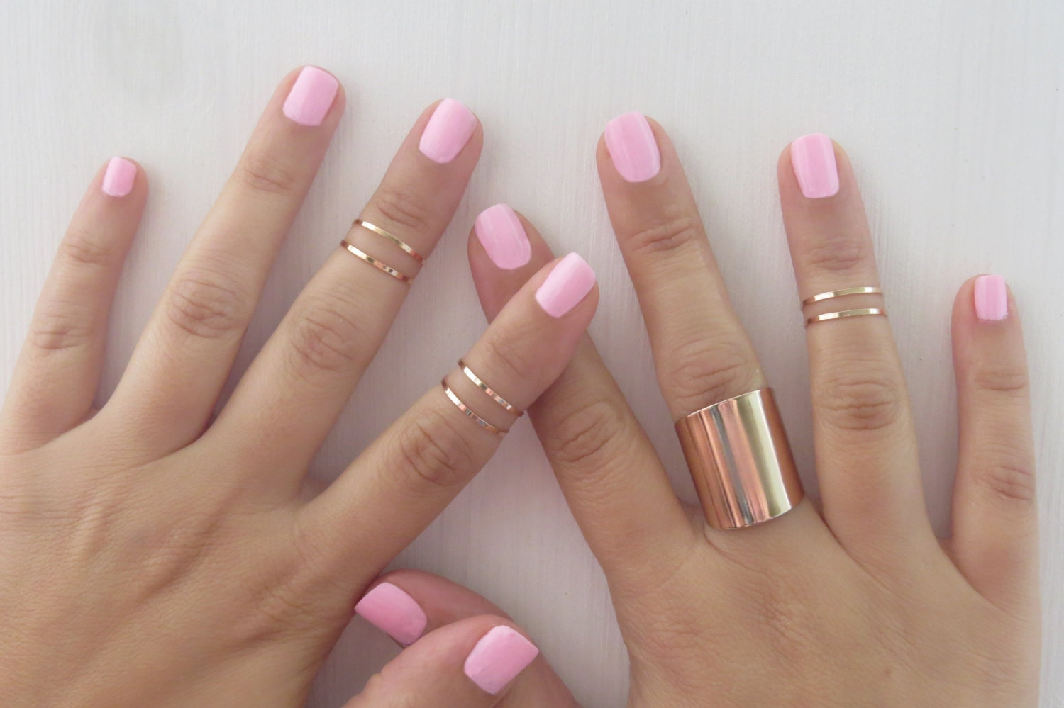 Popular Rose Gold Stack Rings
