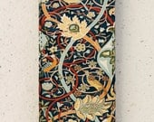 iphone 4, 5 or 6 case - flip case - william morris - cover - flower - design -  Samsung Galaxy S3 S3mini S4 S4mini S5