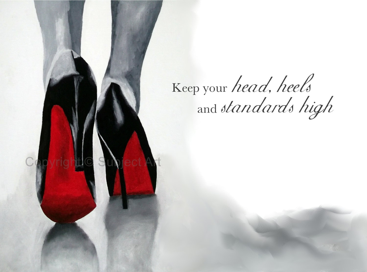 christian louboutin quotes on shoes