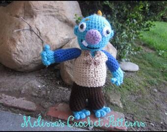 Crochet Pattern - Wally Trollman - Wallykazam