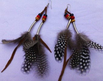 J21-Feather Earrings