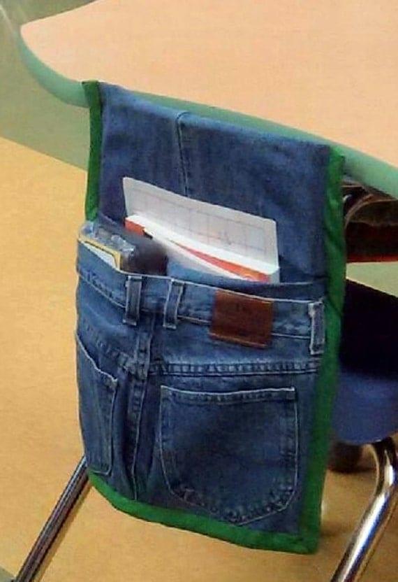 Items Similar To Chair Back Sack Pocket Organizer Custom