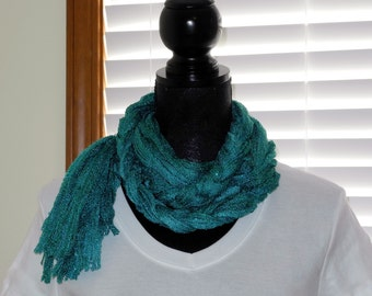 Totally Teal Scarf   # 51