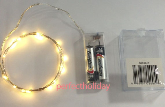 Led String Lights Long : 20 LED Mini String Light 7 feet long Fairy Lights by Christmas168