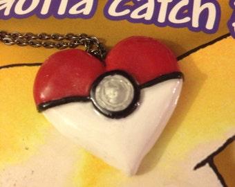 Poke-Heart Necklace
