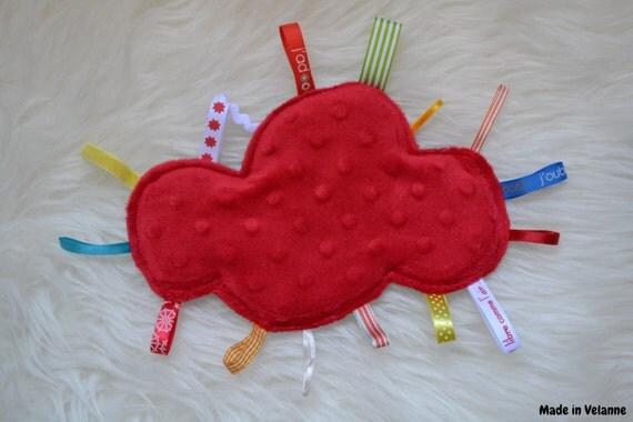 Doudou red cloud 'cars'