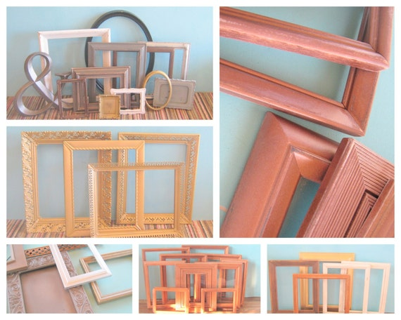 Mixed Metal Gallery Wall Picture Frames Copper By
