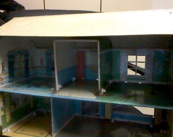 Marx Tin Doll House, Furnished