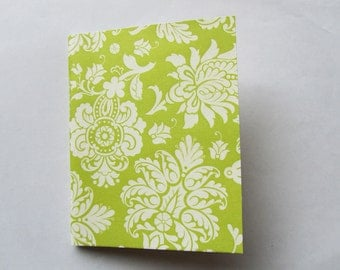 Diary/Journal/Notebook – Pretty Green Damask