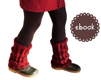 Instant Download - Crochet Pattern - Legwarmers Molly - PDF ebook No. 56