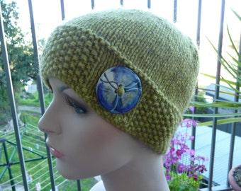 Pure Wool & Possum Yarn Hat - 13119