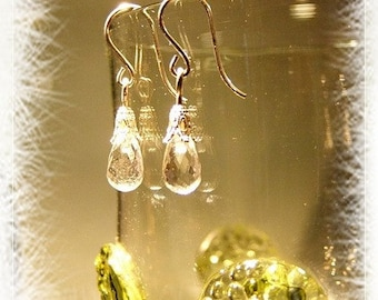 "delicate earrings ""Crystal meets Orient"""