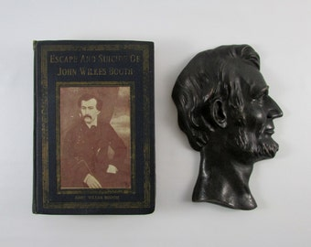 Extremely Rare 1st Edition - Escape and Suicide of John Wilkes Booth, Assassin of President Lincoln - Finis L. Bates,  American History