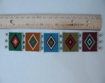 Peyote stitched Bracelet