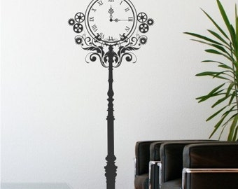 Steampunk clock Etsy