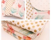 Burp Cloths- Choose your Fabrics