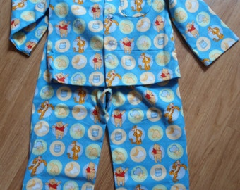 Size 5 Boys Pajamas