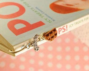 chocoholic bookmark - bookmark