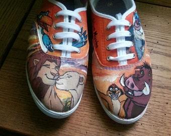 Custom Shoes- Tom's Vans or Converse Any Design *PLEASE READ DESCRIPTION*