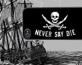 Goonies - Never Say Die - iPhone 4 4s and 5 Samsung Galaxy 3 and 4 Protective Case