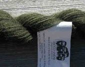 100% Qiviut, Forest Fingering weight, 220yds/oz, 1 ounce skein