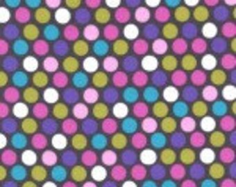 Michael Miller Diddly Dot in Orchid - 1/2 yard