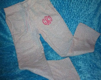 Personalized Monogrammed Sweat Pants