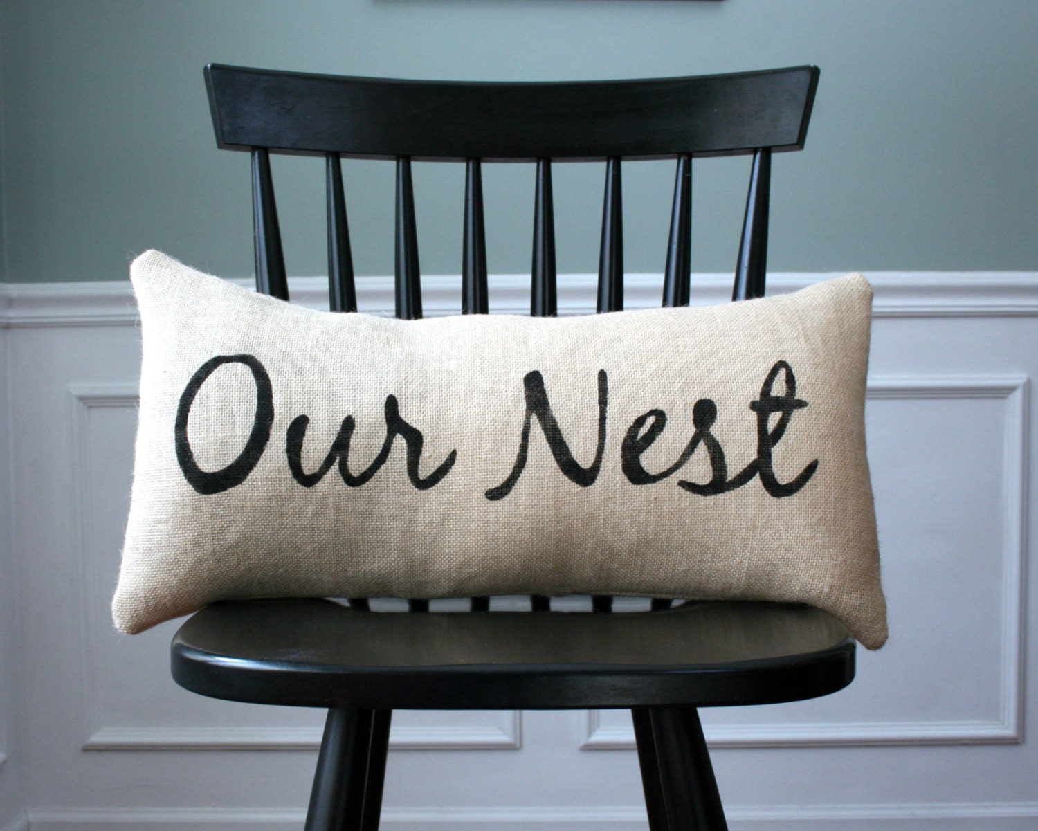 Our Nest Pillow Cover Home Decor Housewarming By