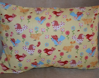 Travel Pillow Case / Accent Pillow Case Various SPRING BIRDS!