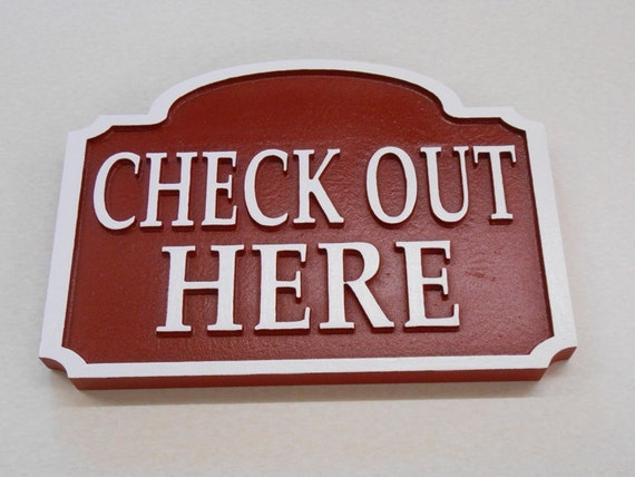 Custom Ordered Directional Sign