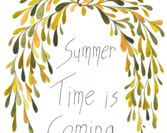 Summer time is coming